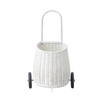 Load image into Gallery viewer, Olli Ella Luggy Basket - White - Nursery Edit