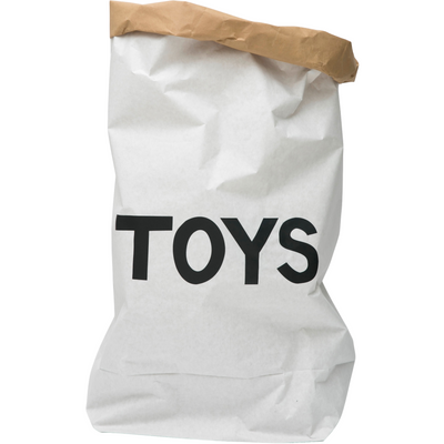 Tellkiddo Paper Toy Storage Bag - TOYS - Nursery Edit