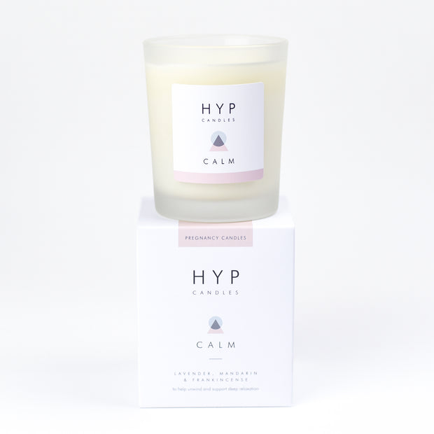 HYP CALM Candle - Lavender, Mandarin and Frankincense - Nursery Edit