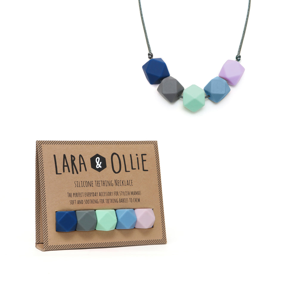 Lara & Ollie Seren Teething Necklace - Kokoso X Lara & Ollie