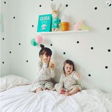 Load image into Gallery viewer, Poli & Oli Black Dots Wall Stickers - Nursery Edit