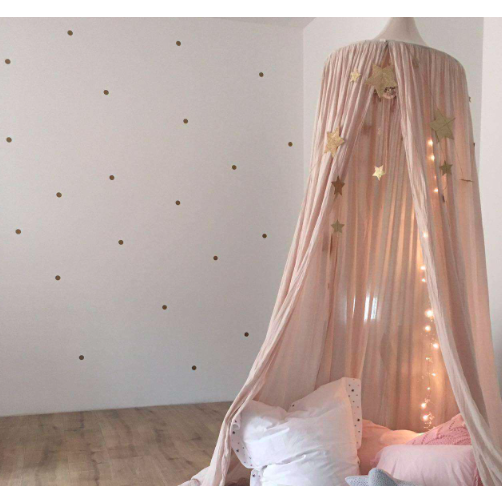Gold Dots Wall Stickers