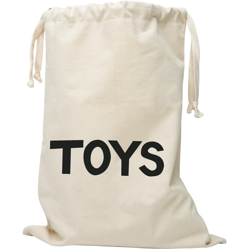 Tellkiddo Small Fabric Storage Bag - TOYS - Nursery Edit