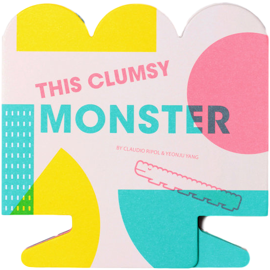The Clumsy Monster Book