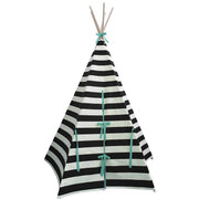 Wildfire Teepees Stripe Teepee Seafoam Trim - Nursery Edit