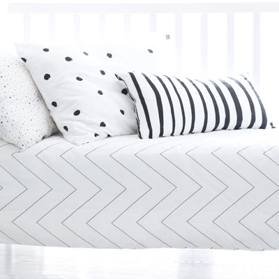 Ooh Noo Zebra Cushion - Nursery Edit