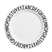 Load image into Gallery viewer, Design Letters Melamine Alphabet Dinner Plate - Nursery Edit