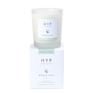 HYP BREATHE Candle - Eucalyptus, Tea Tree & Lavender - Nursery Edit