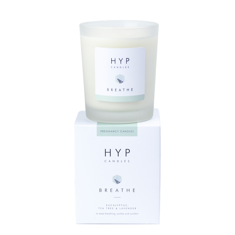 HYP BREATHE Candle - Eucalyptus, Tea Tree & Lavender