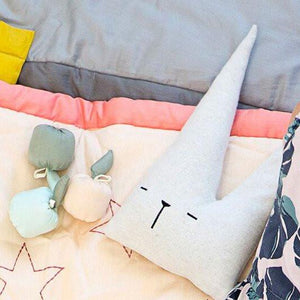 Fabelab Travel Bunny Friend Cushion - Nursery Edit