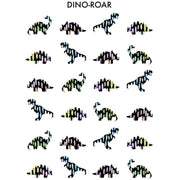 Wonder & Rah Dino-Roar Print A3 - Nursery Edit