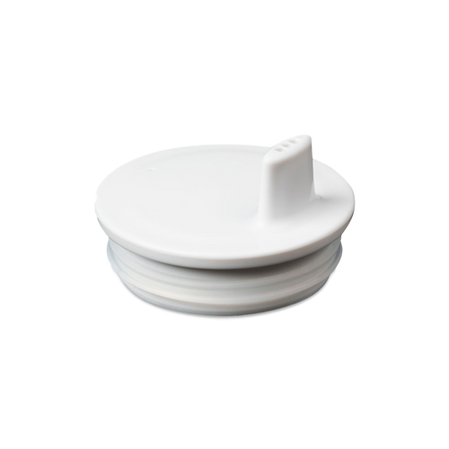 White Drink Lid - To Fit Alphabet Cup