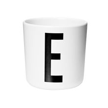 Load image into Gallery viewer, Design Letters Melamine Alphabet Cup A-Z - Nursery Edit