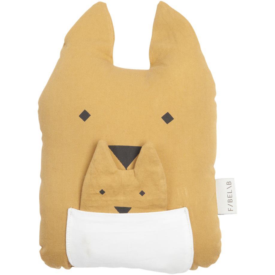 Fabelab Animal Pillow Cushion Kangaroo & Joey