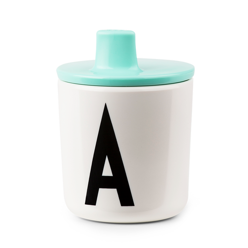 Design Letters Mint Drink Lid - To Fit Alphabet Cup
