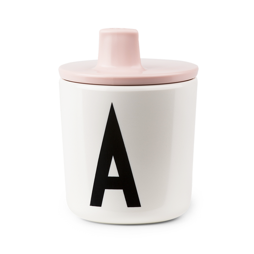 Pink Drink Lid - To Fit Alphabet Cup
