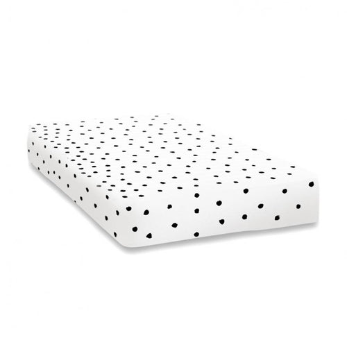 Fitted Toddler Cot Bed Sheet - Ladybird