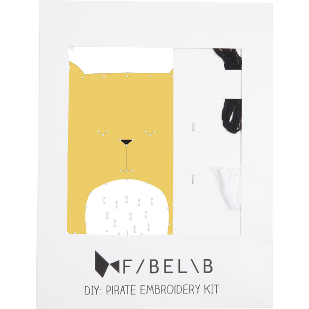 Fabelab Embroidery Kit Bear - Nursery Edit