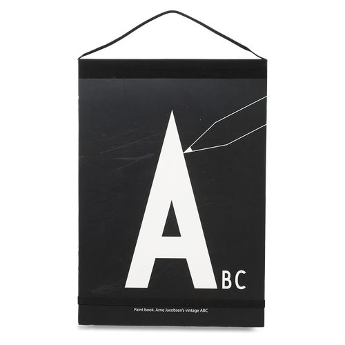 abc letters paintbook