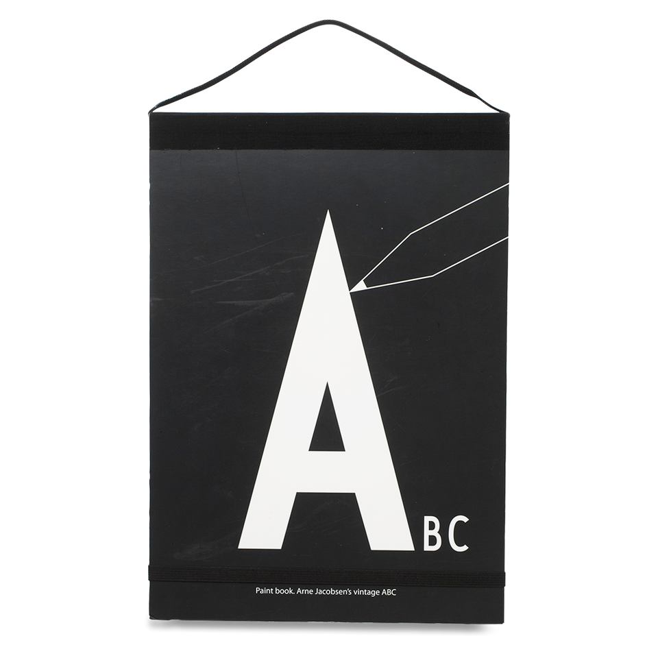 Design Letters ABC Colouring Paintbook