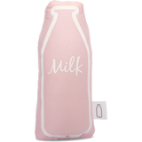 Pink Milk Bottle Rattle