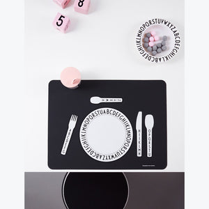 Design Letters Alphabet Silicone Placemat - Nursery Edit