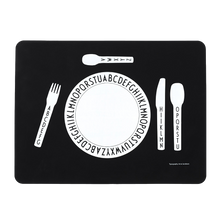 Load image into Gallery viewer, Design Letters Alphabet Silicone Placemat - Nursery Edit