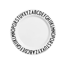 Load image into Gallery viewer, Design Letters Melamine Alphabet Plate - Nursery Edit