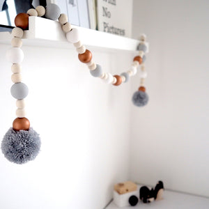 Wooden Decorative Garland - Bronze - Nursery Edit