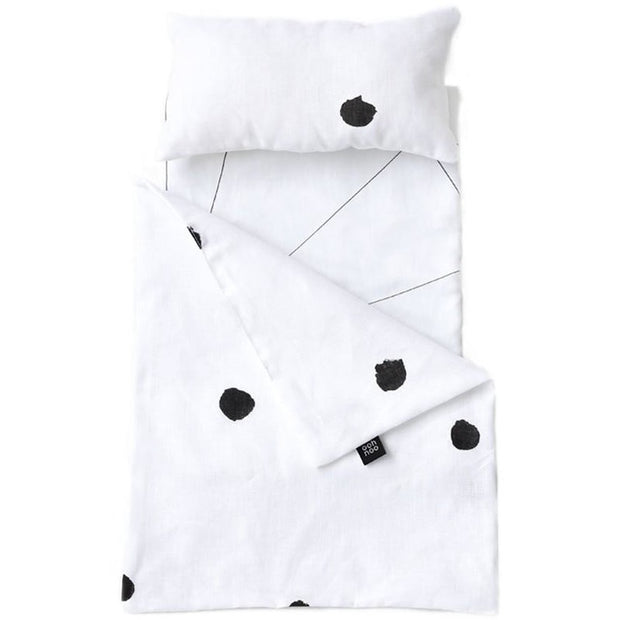 Ooh Noo Toy Pram Bedding - Ladybird - Nursery Edit