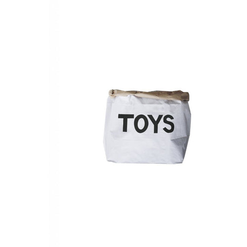 Tellkiddo Small Paper Toy Storage Bag - TOYS - Nursery Edit