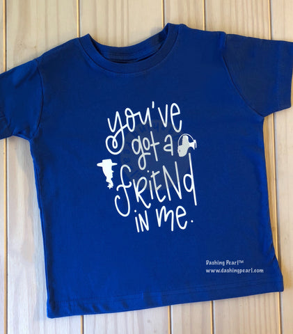 Kid's You've Got a Friend in Me Tee