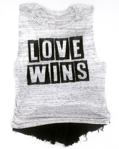 Love Wins Muscle Tank