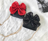 Minnie Mouse Inspired Sequince Bow