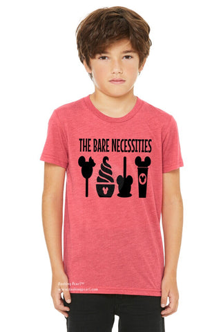 The Bare Necessities Disney Snacks Unisex Kid's Tee