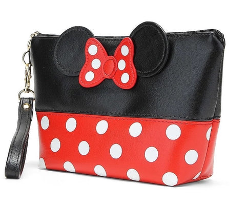 Minnie Mouse Inspired Makeup Bag
