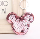 Mickey Sequins Keychain