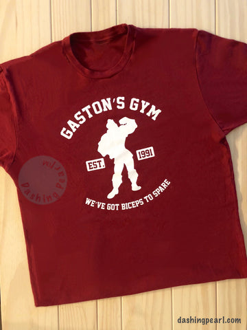 Mens Gaston's Gym - We've Got Biceps To Spare