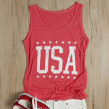 Vintage USA Star Tank Top
