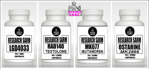 Ripped Labz Advanced Muscle Stack (LGD-4033 / RAD-140 / MK-677 / MK2866)