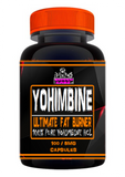 Yohimbine HCL Fat Burner (100 x 5mg capsules)