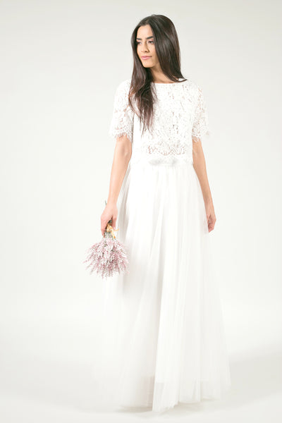Ophelia Two Piece Wedding Dress