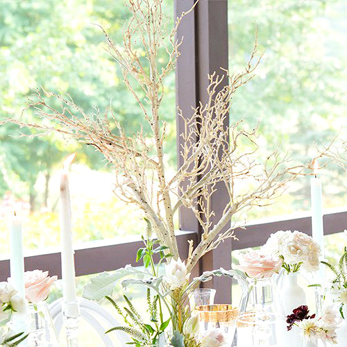 Artificial Birch Tree Centerpiece