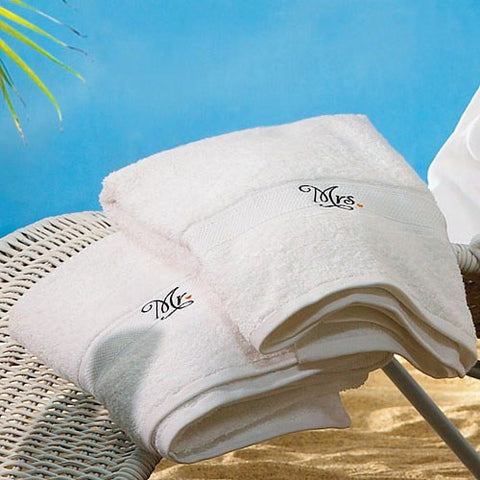 Mr. And Mrs. Wedding Towels