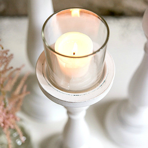 Shabby Chic Candle Holder Set