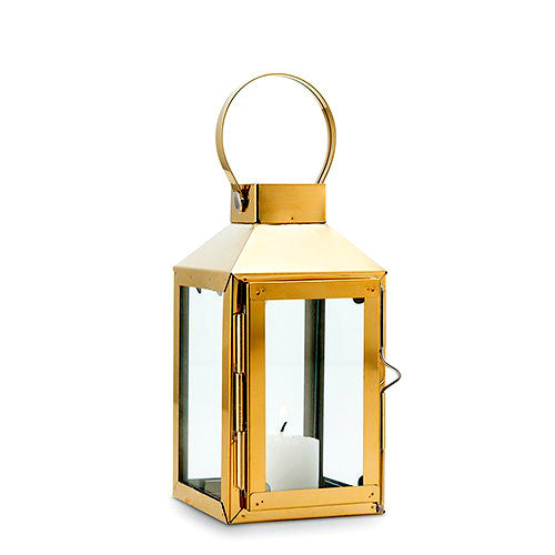 Decorative Gold Candle Lantern