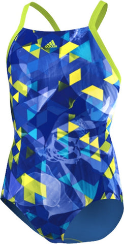 adidas xtreme thin strap swimwear girls swimmers