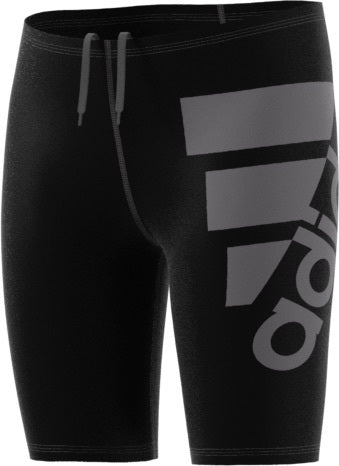 Boy's Solid Jammer Boys Swim Trunks - Black / Granite