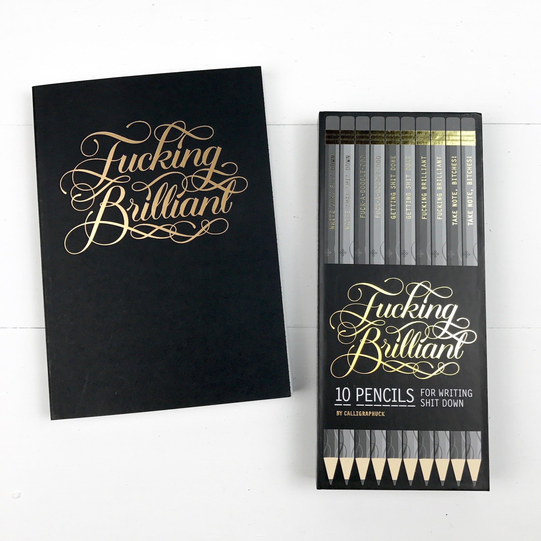 F***ing Brilliant Pencils