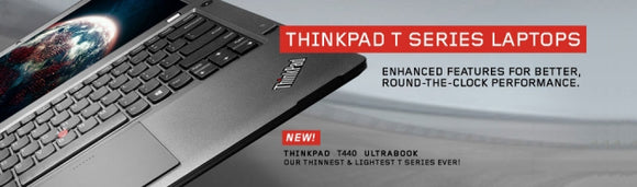 Lenovo ThinkPad Refurbished T-Series Laptops & Ultrabooks Certified | Grade A | 1 Year Warranty | T430 , T440 , T450 , T530 , T540 |